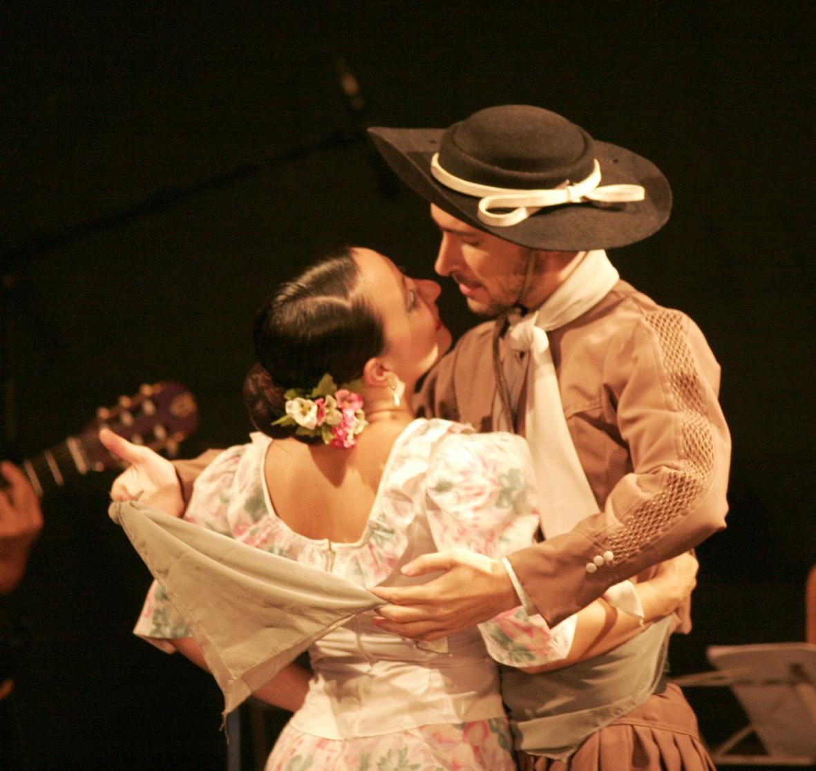 Cintia y Lucas Panero